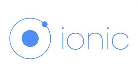 ionicハイブリッドアプリ開発